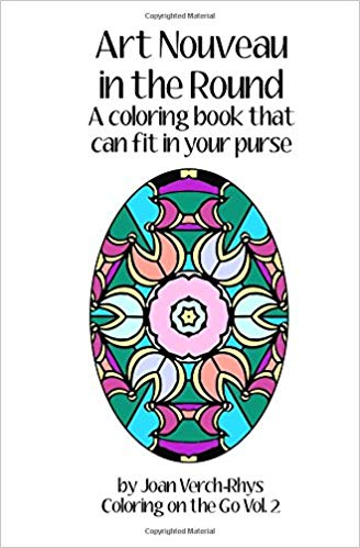 Art Nouveau in the Round: A Coloring Book that Can Fit in Your Purse