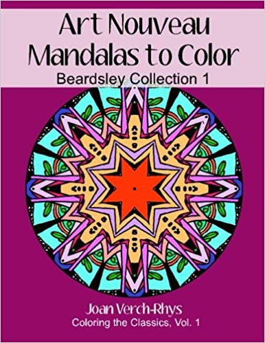 Art Nouveau Mandalas to Color: Beardsley Collection 1