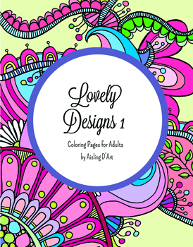 Lovely Designs 1: Coloring Pages for Adults