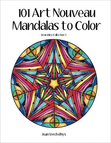 101 Art Nouveau Mandalas to Color: Beardsley Collection 3